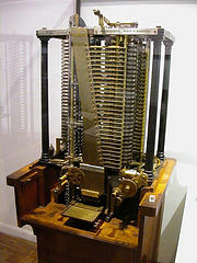 Babbage-style mechanical 'difference engine'
