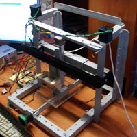 Russian-built scrapheap 3D printer
