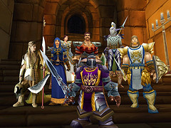 World of Warcraft adventure party