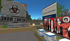Promotional build for Neal Stepheson's Snow Crash in Second Life
