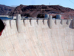 The Hoover Dam is a key part of the water ristribution of the southwest US