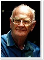 Portrait photo of Sir Arthur C. Clarke