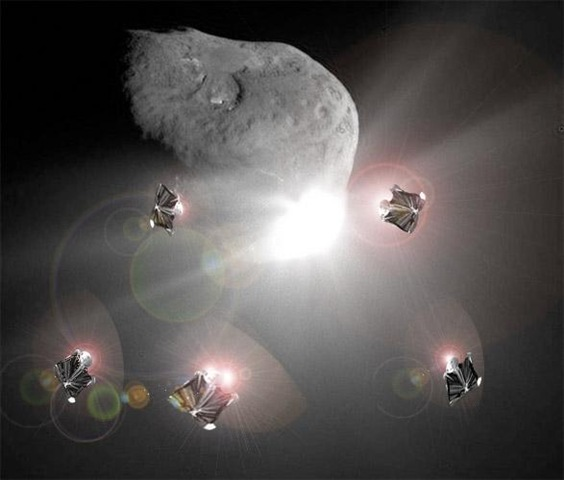 asteroid ramming - photo #13
