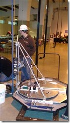 University of Saskatchewan's space elevator climber