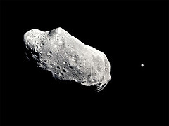 Asteroids - a key step in our development of space?