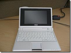 Asus Eee notebook computer