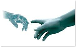 human hand cyber hand