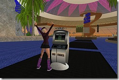 Ginko ATM in Second Life