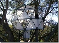 Geodesic-tree-house