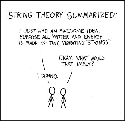 xkcd is an absorbing mix of stick figures, physics, programming, math, love and dark humour