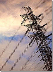 electric ultility pylon