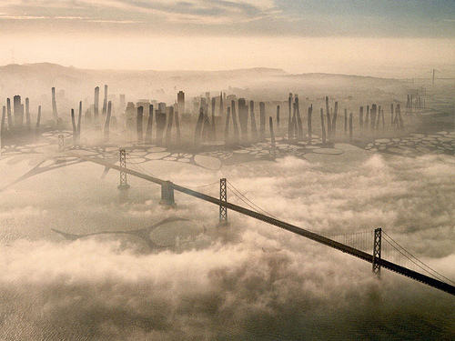 San Francisco in 100 years time looks a little different…
