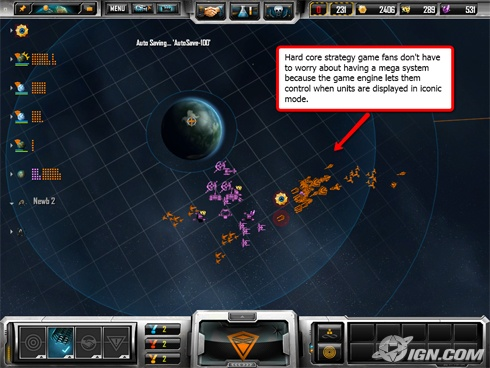 Sins of a Solar Empire has an impressive scaling of graphics to suit your machine