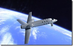 EADS Astrium spaceplane in flight