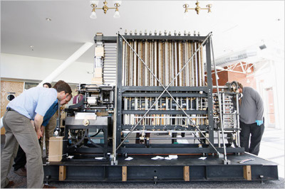 Babbage Engine unboxing