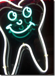 neon tooth