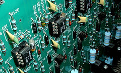printed circuit board and electronic components