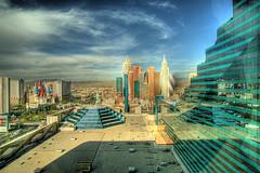 Science fictional city concept art
