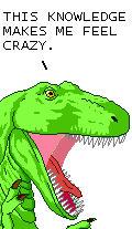 T-Rex of Dinosaur Comix