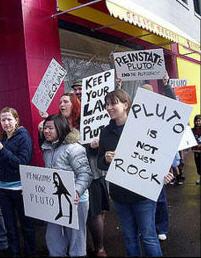 pluto-protest
