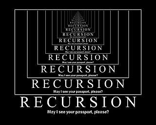 Fruitless Recursion