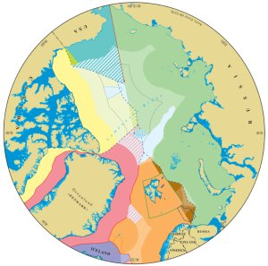 Arctic Circle claims map
