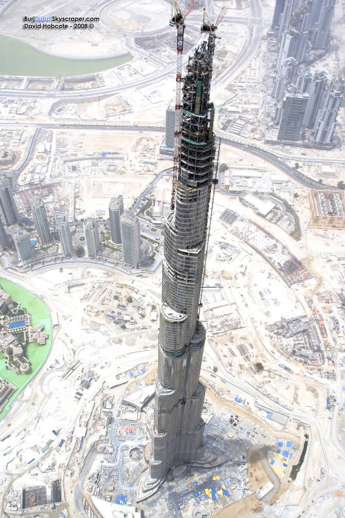 Burj Dubai - tallest building in the world