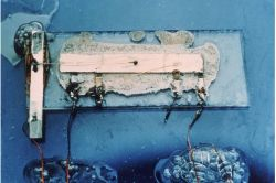 Jack Kilby\'s first integrated circuit