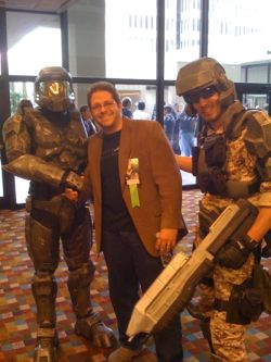 Tobias Buckell meets Halo's Master Chief