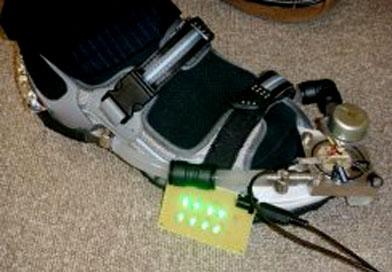 Docomo power source shoe prototype