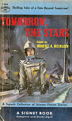 Tomorrow, The Stars - old science fiction anthology cover