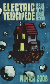 Electric Velocipede cover art for double-issue 15 and 16