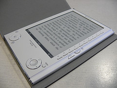 Sony ebook Reader device