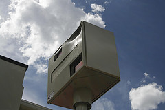 UK-style GATSO traffic speed camera