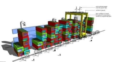 CORB v2.0 shipping container condominium - image copyright Anderew Maynard Architects