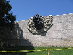 meteorite impact sculpture
