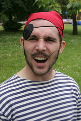 A pirate, yesterday