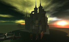 a castle in Second Life
