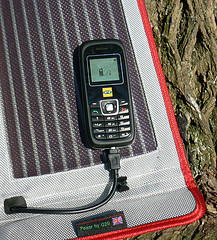 cellphone solar charger