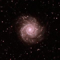 Messier-74 galaxy