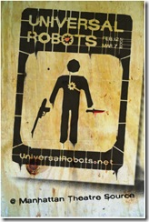 Universal Robots poster