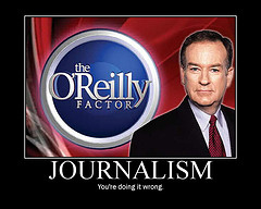 Bill O'Reilly motivational poster spoof
