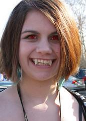 A vampire, yesterday