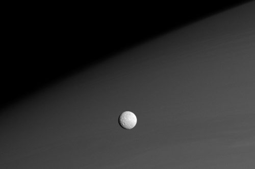 Mimas, moon of Saturn - Cassini probe