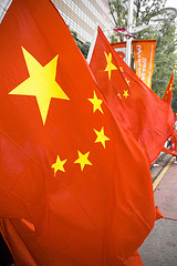 Chinese flags