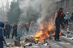 Chisinau riots, Moldova 2009