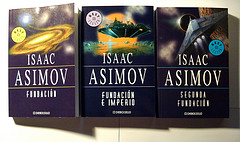 Asimov's Foundation Trilogy in Spanish