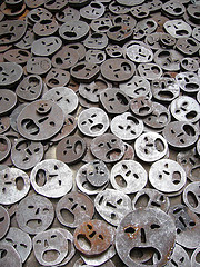 little metal faces