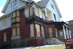 Abandoned building, Flint, Michigan