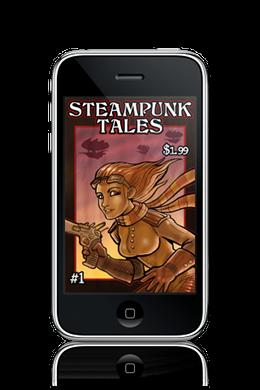 Steampunk Tales ezine cover